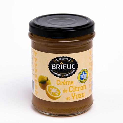 Crème de Citron et Yuzu 220g