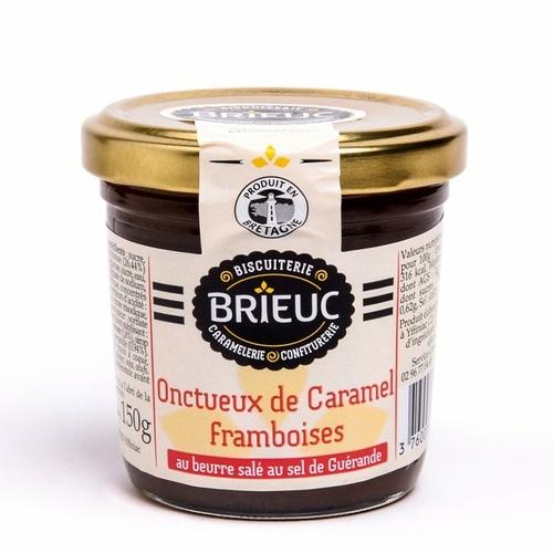 Onctueux de Caramel Framboises 140g