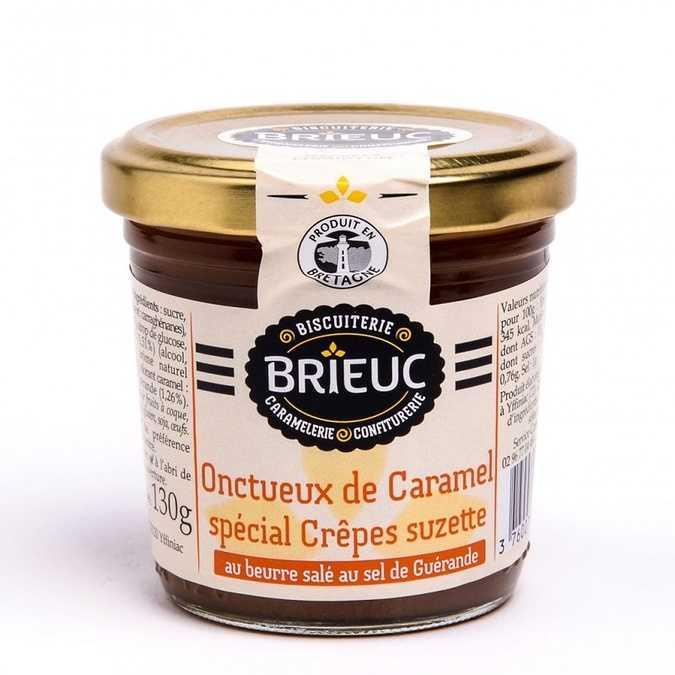 Onctueux de Caramel Spécial Crêpes Suzette 140g 0