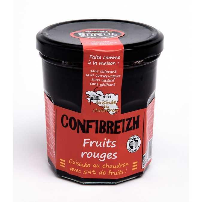 Confibreizh Fruits Rouges 340g 0