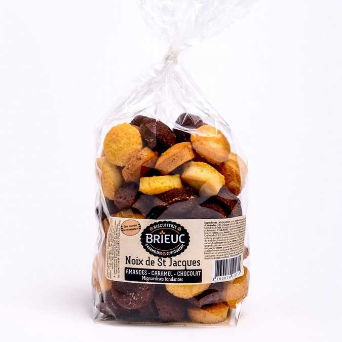 Assortment of saint-jacques nuts 250g 0