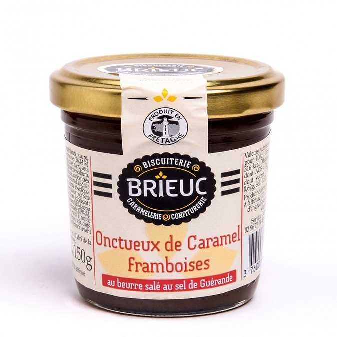 Onctueux de Caramel Framboises 140g 0