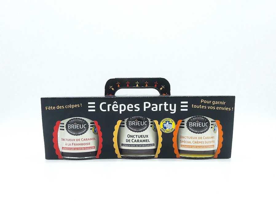 Tripack Crêpes Party Caramel 420g 0