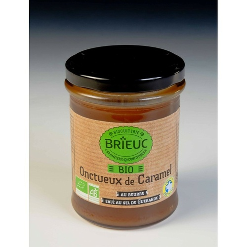Onctueux de Caramel au beurre salé BIO 220g