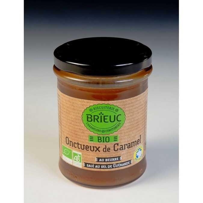 Organic Creamy salted butter caramel 220g 0