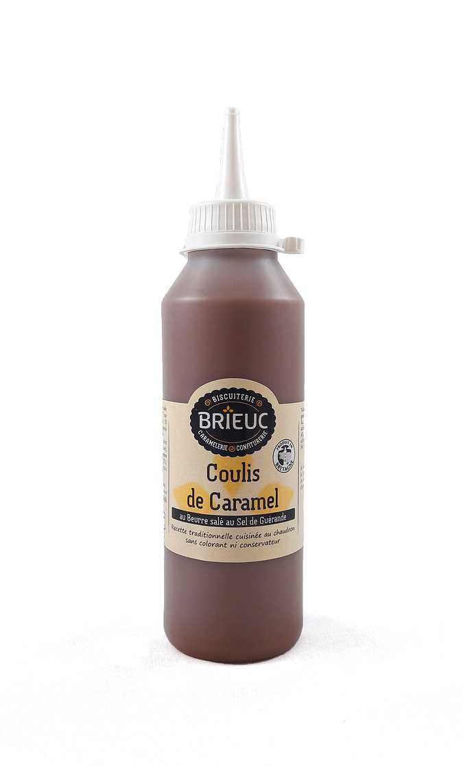Salted butter caramel coulis 350g 0