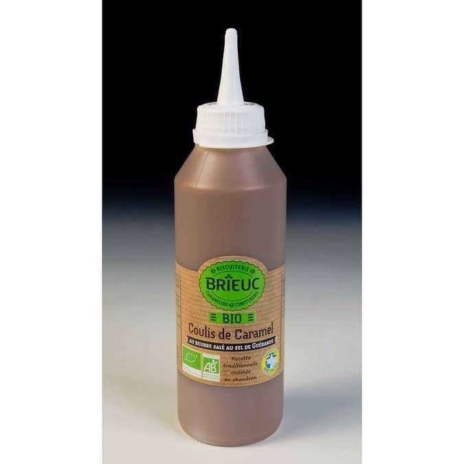 Organic salted butter caramel coulis 350g 0