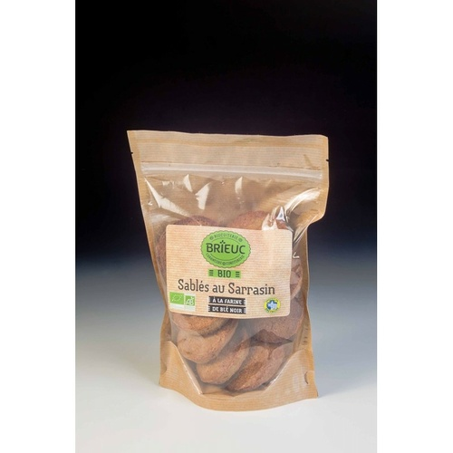Organic Buckwheat Shortbread 200g