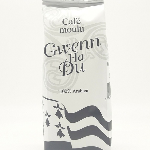 Ground coffee Gwenn Ha Du 250g