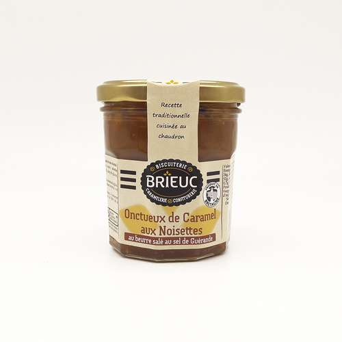 Smooth Caramel with Hazelnuts 220g
